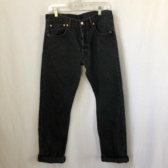 Levi's Denim - Levi's 501 Black Denim Jeans